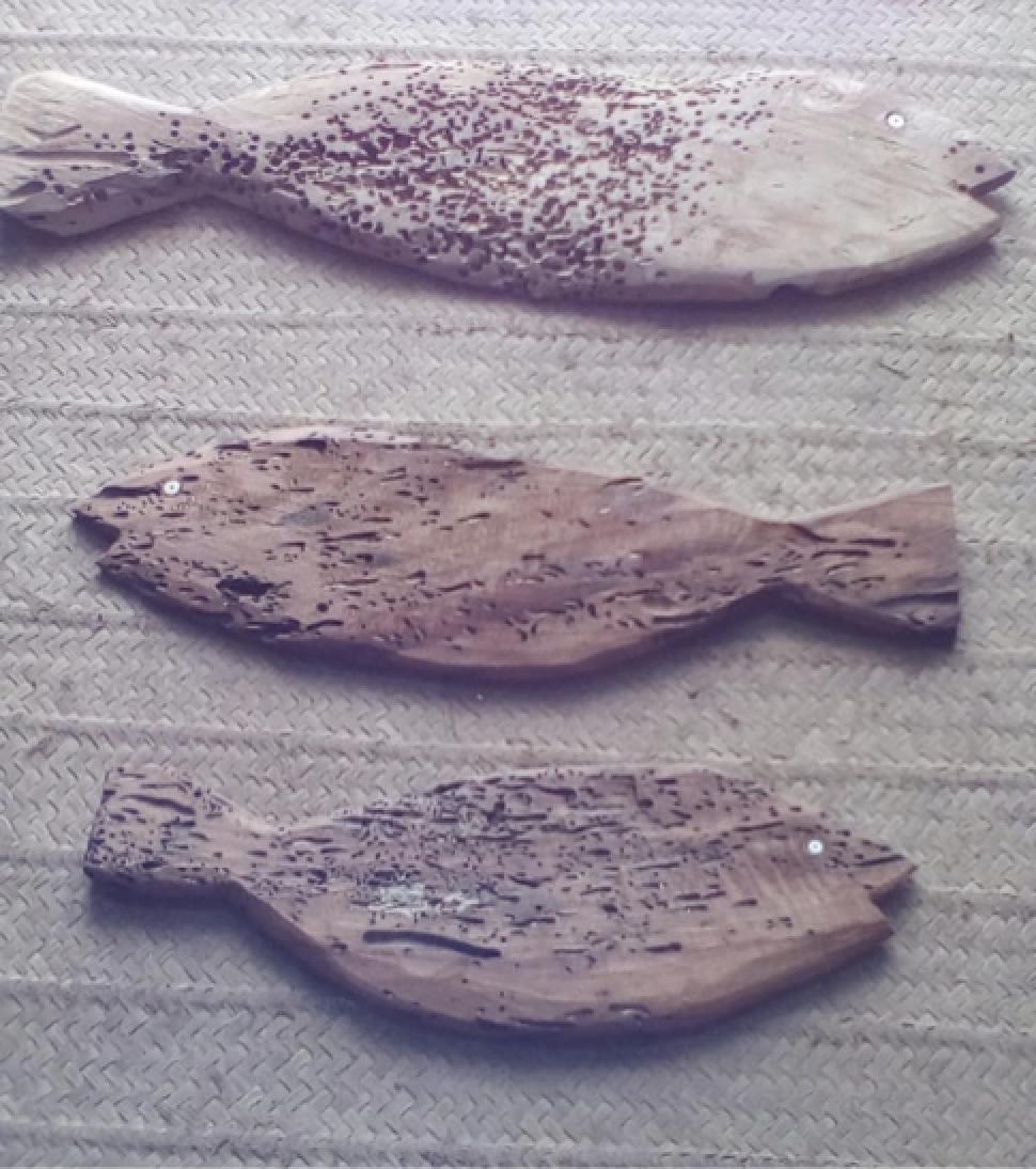 DF1 - Driftwood Fish: Small  $15 (1,500 Ksh)  Medium $25 (2,500 Ksh)  Large $35 (3,500 Ksh)  XL$40 (4,000 Ksh)