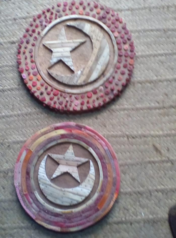 FF2 Lamu Dhow Eye with flip-flop: Small $45 (4,500 Ksh)  Medium $45 (4,500 Ksh)